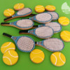 Tennis-racket cookie