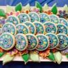 daisy platter