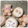 Cute teddy-bear cookies