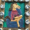 3-D Horse with Frame