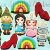 Wizard of Oz cookies.