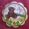 Teddy  in the Garden 2