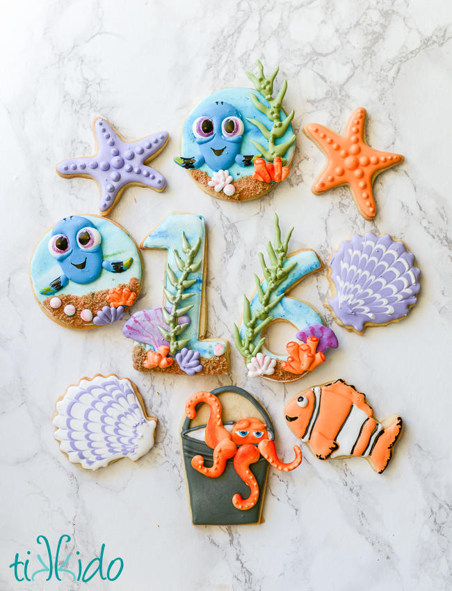 Finding Dory Cookie Set
