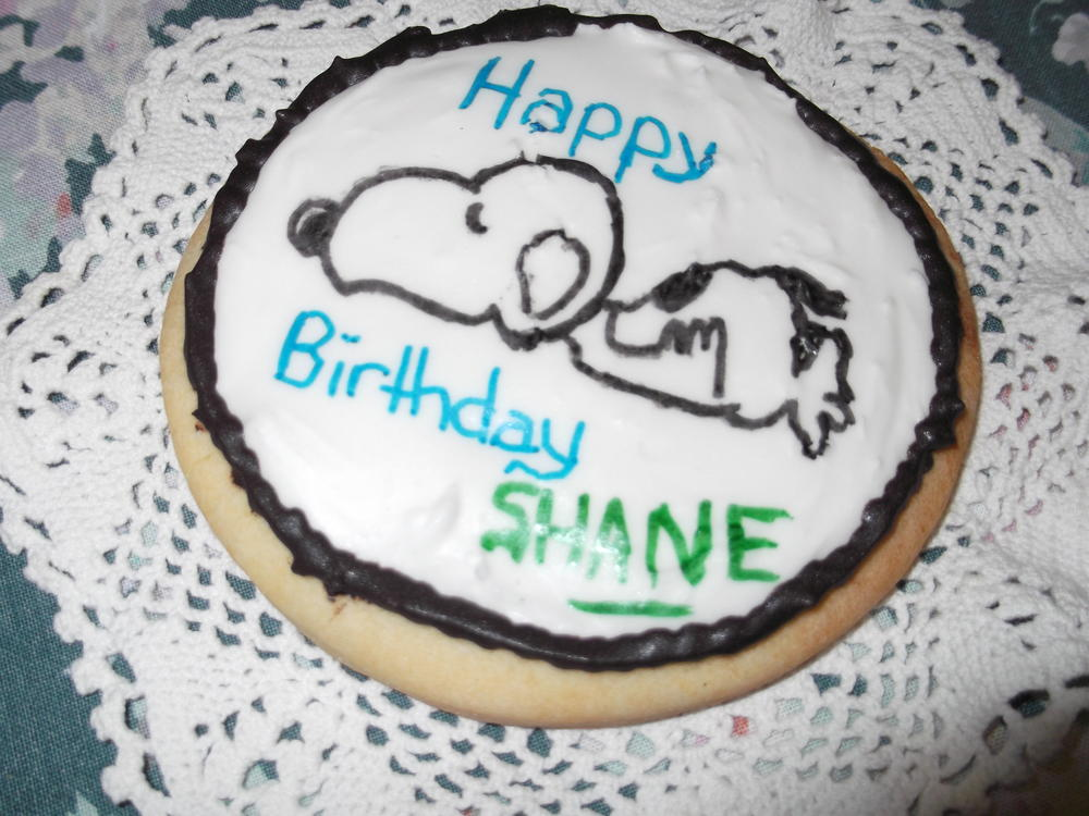 Snoopy Cookie for Shane
