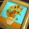 "Cookie Copy of  Van Gogh's ""Sunflowers"""