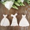 Bridal cookies, by doctorcookies