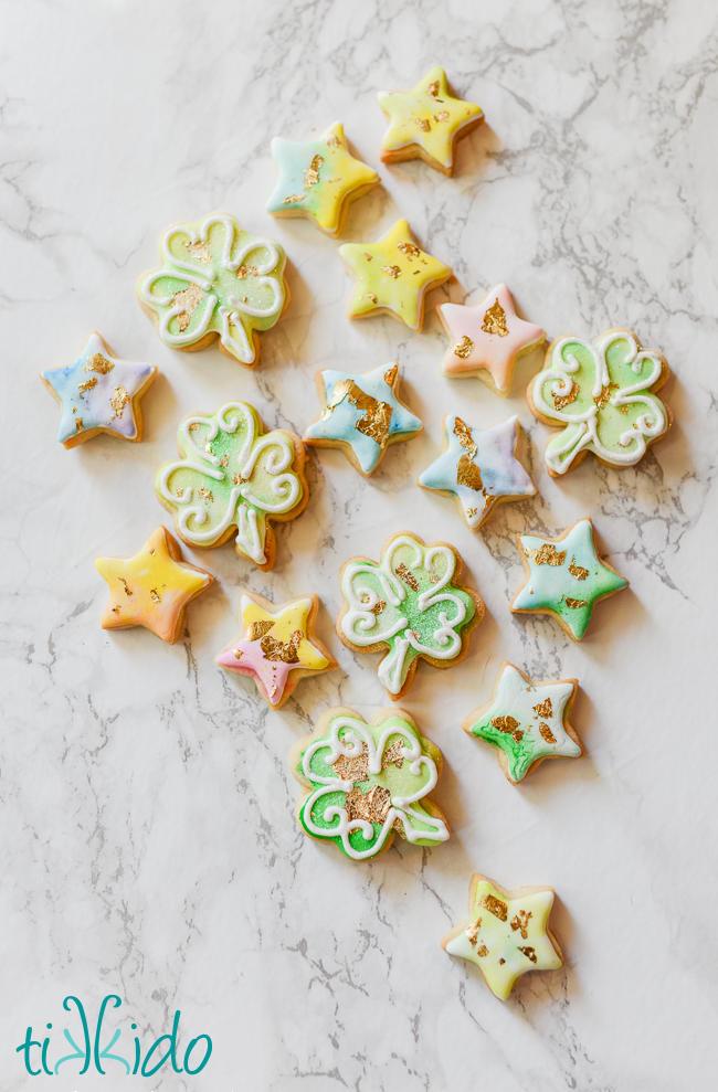 Watercolor painted Cookies