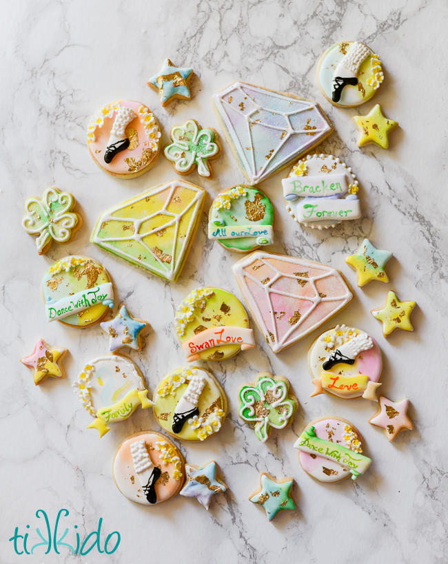 Irish Dancing Cookies