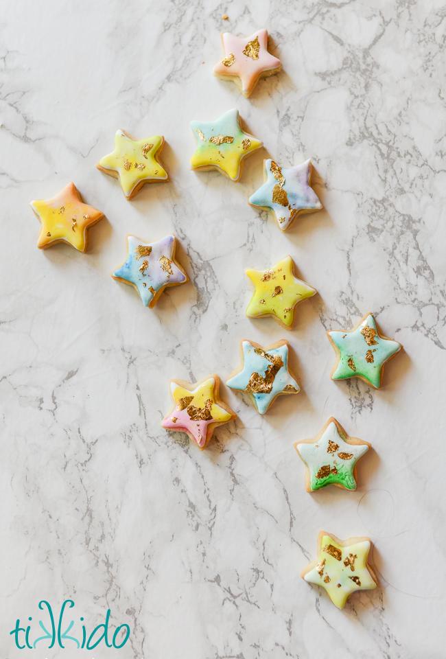 Tiny Star Cookies