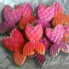 Mermaid Tail Cookies by Shell's Sweet Serendipity