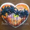 Sunset & palms