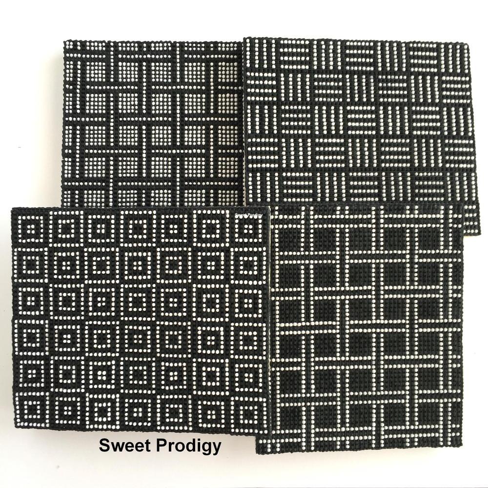 Black & White Needlepoint   Sweet Prodigy