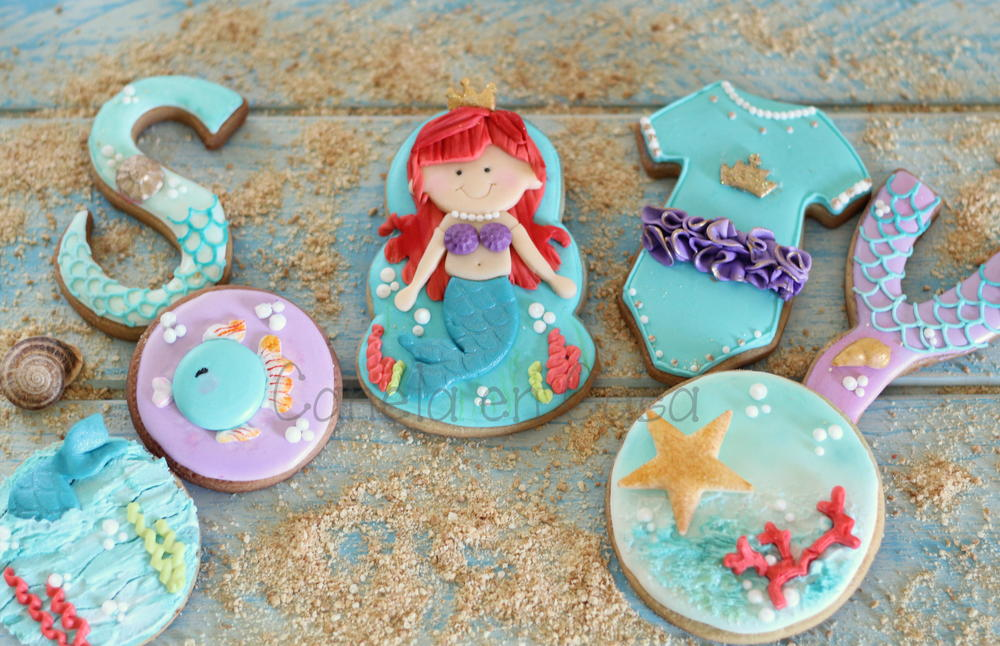 Little Mermaid Biscuits