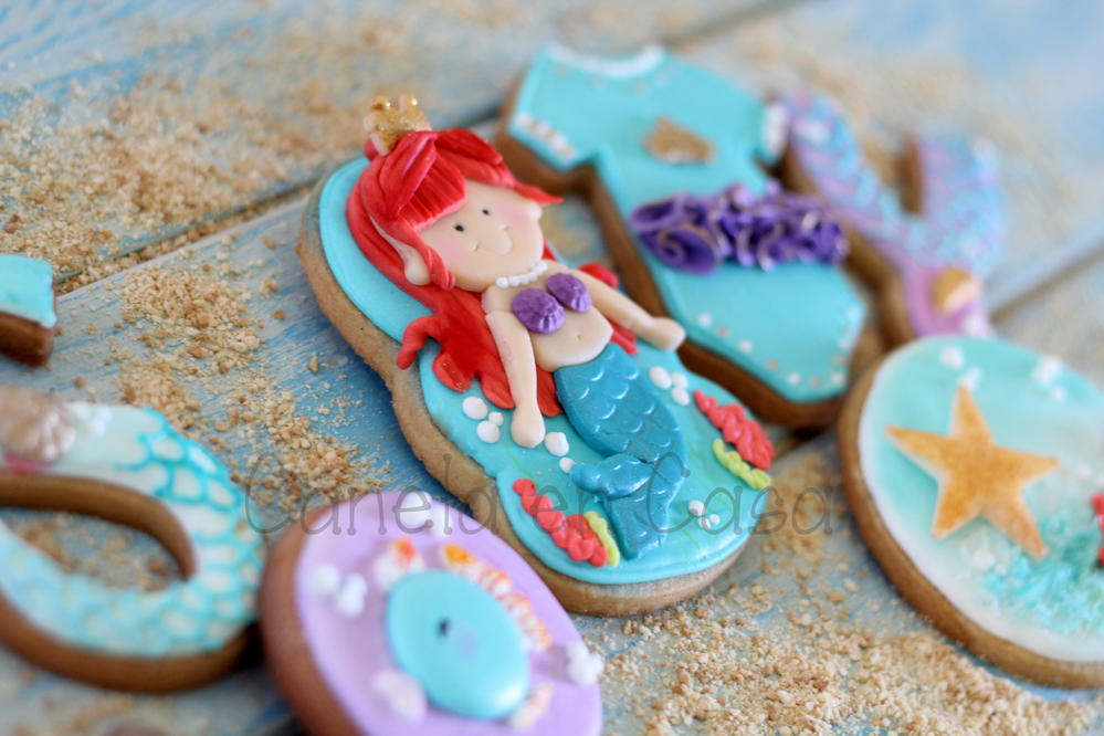 Little Mermaid and Sea Biscuits