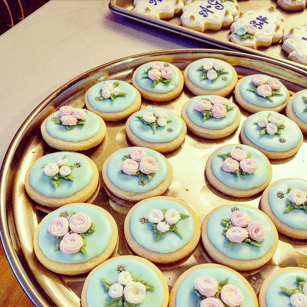 simple wedding cookies cookie connection