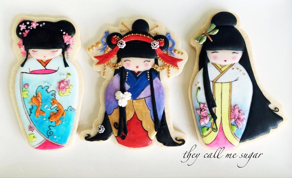 Cookie Kokeshi Dolls!