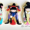 Cookie Kokeshi Dolls!