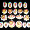 Lion Birthday Cookies