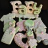 Baby Girl Cookie Platter by Sweet Kissed Confections
