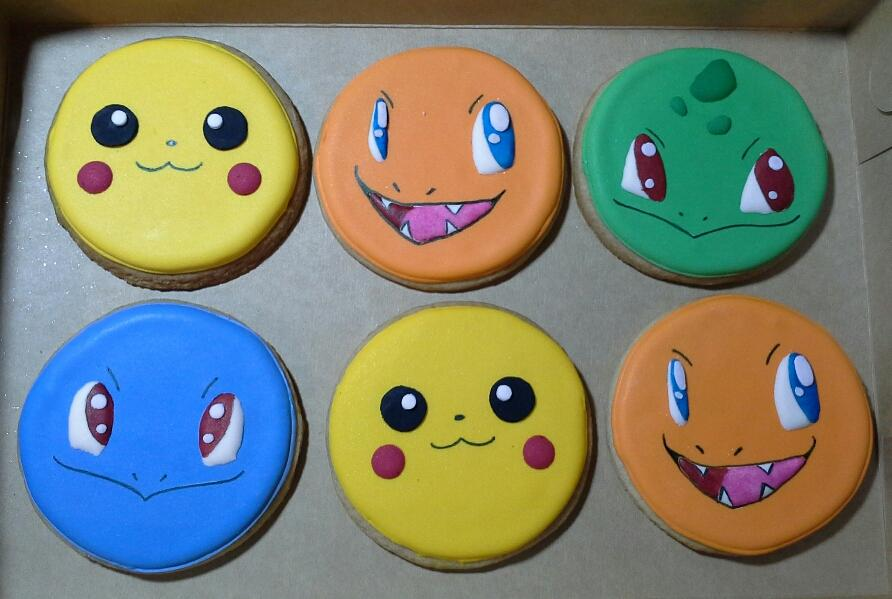 Pokemon Go? Nah! Pokemon cookies!