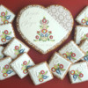 Wedding keepsake with Slovak ornaments