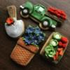 Lorena Rodriguez. Gardener cookies.