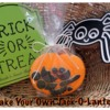 Make Your Own Jack-O-Lantern Treat Bag