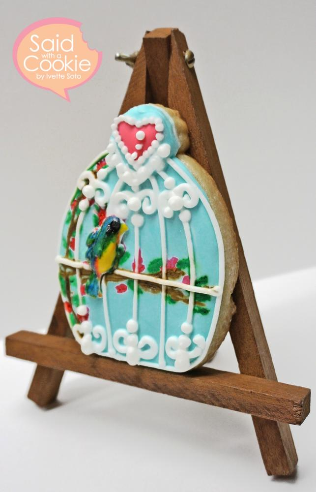 Birdcage Cookie