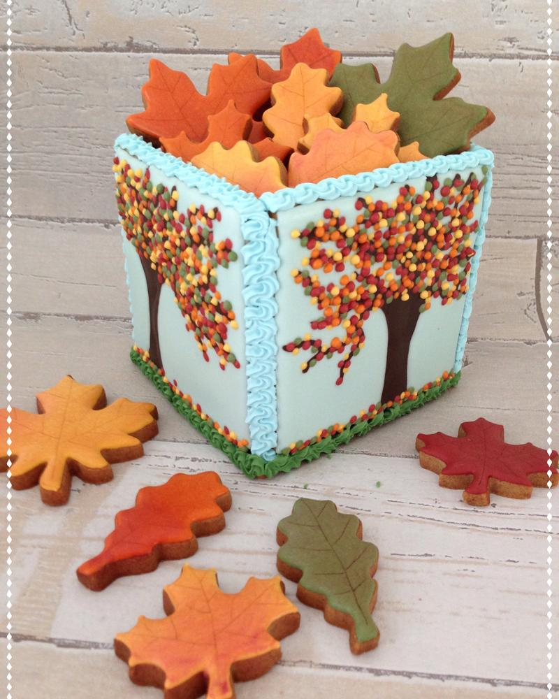 3D cookiebox Fall
