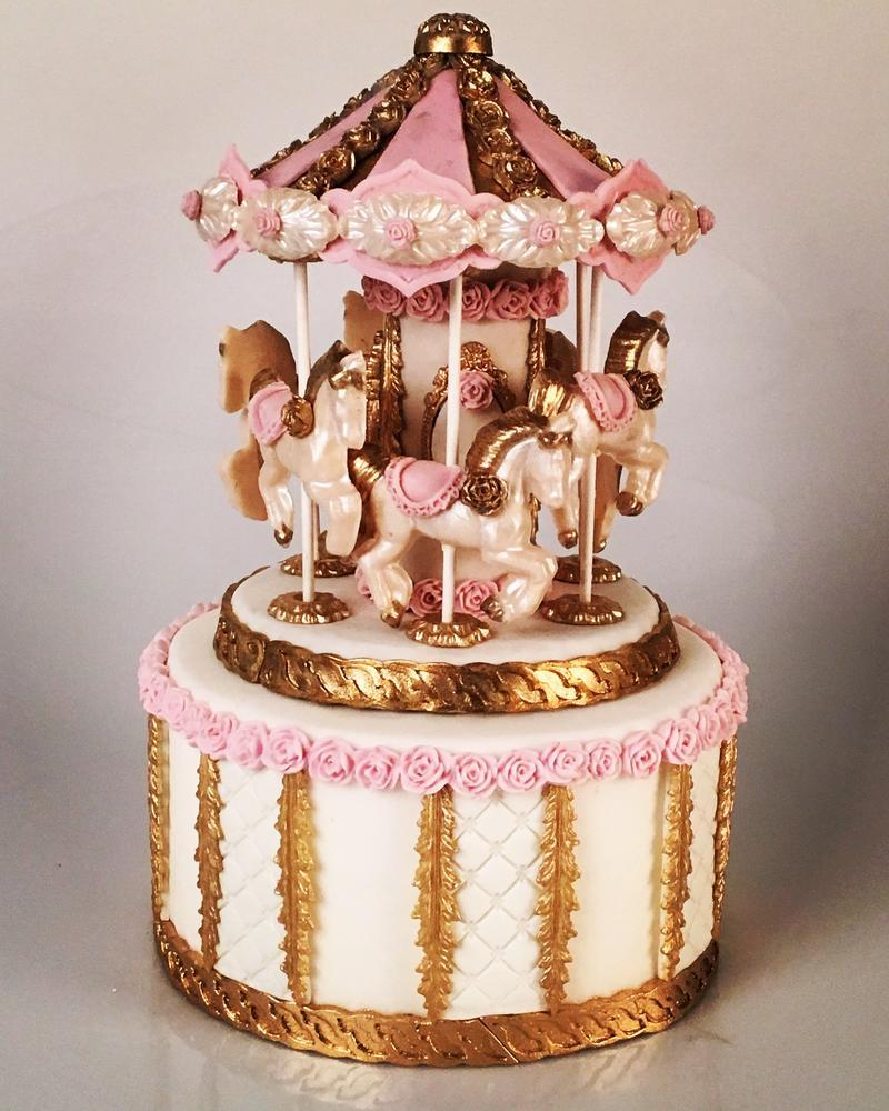 Lorena Rodriguez. Carousel Cake