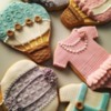 Lorena Rodriguez. Baby shower cookies