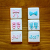 """1"""" minis for a gender reveal party"""