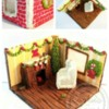 3-D Living Room, Waiting for Santa Claus