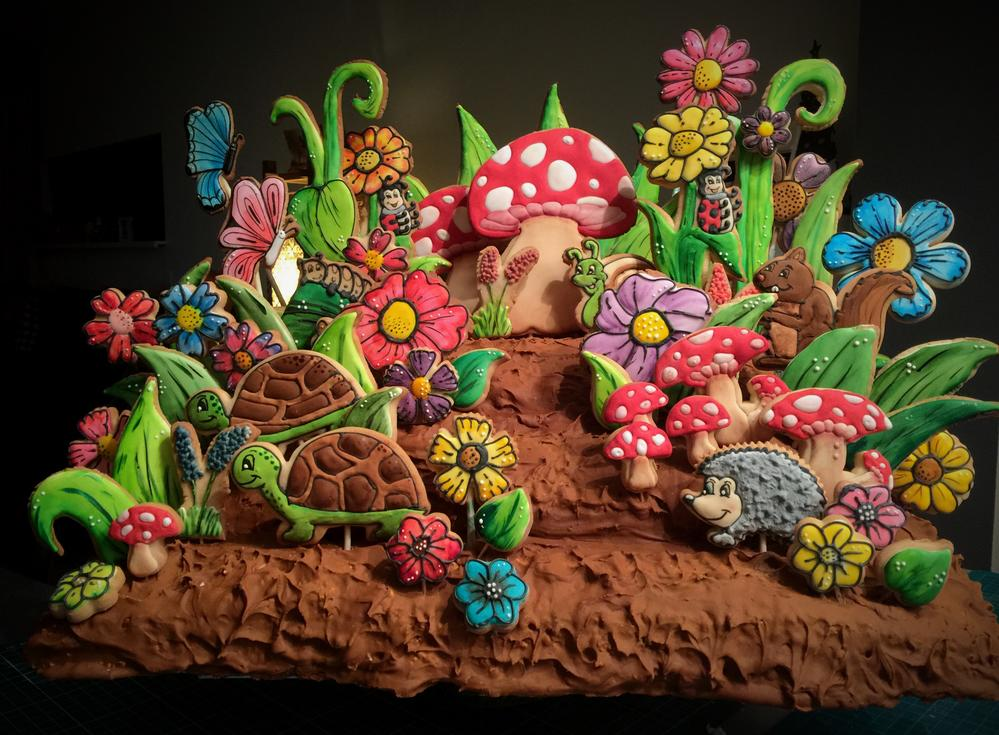 Woodland Cookie Sculpture