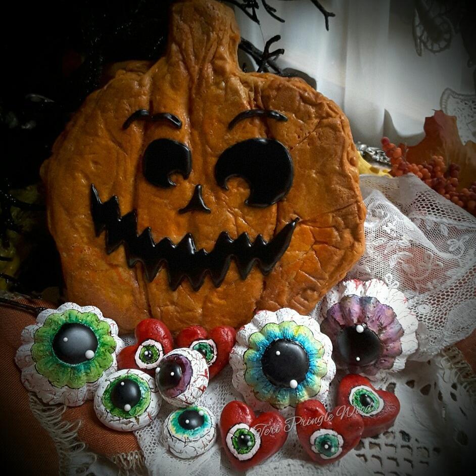 Pumpkin and Eyeballs