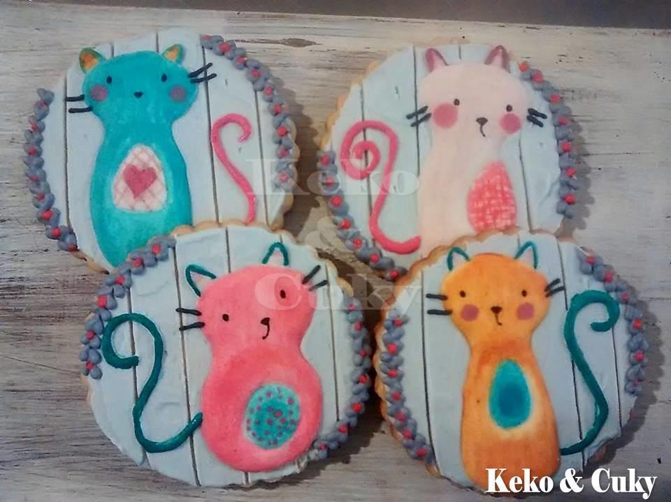 Four little kitties