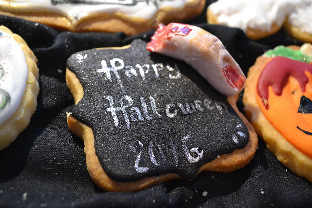 Halloween Message Plaque