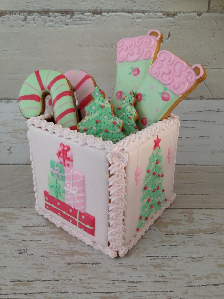 3D cookiebox Christmas