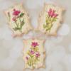 Vintage Wild Flower Cookies