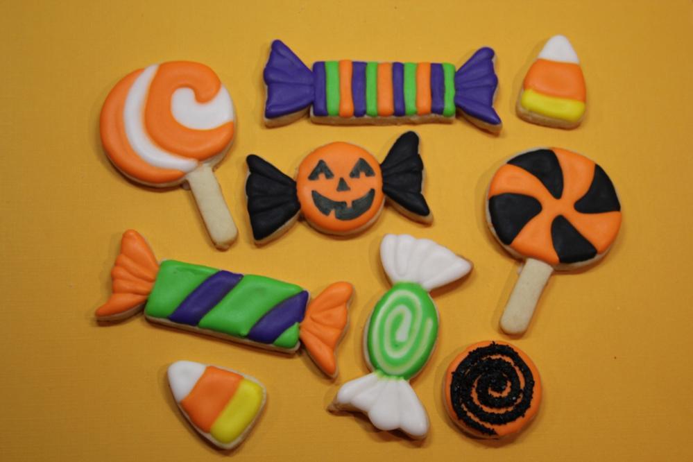 Halloween Candy Cookies