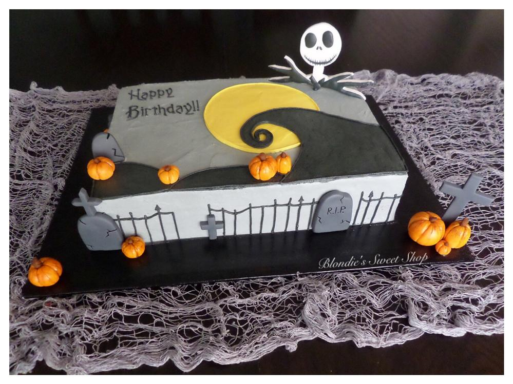 Enjoyable Halloween Birthday Cake Cookie Connection Funny Birthday Cards Online Barepcheapnameinfo