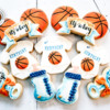 Basketball-Themed Baby Shower