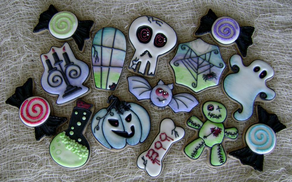 Goofy Goths, Boo Bones, and Candy Curls - Happy Halloween