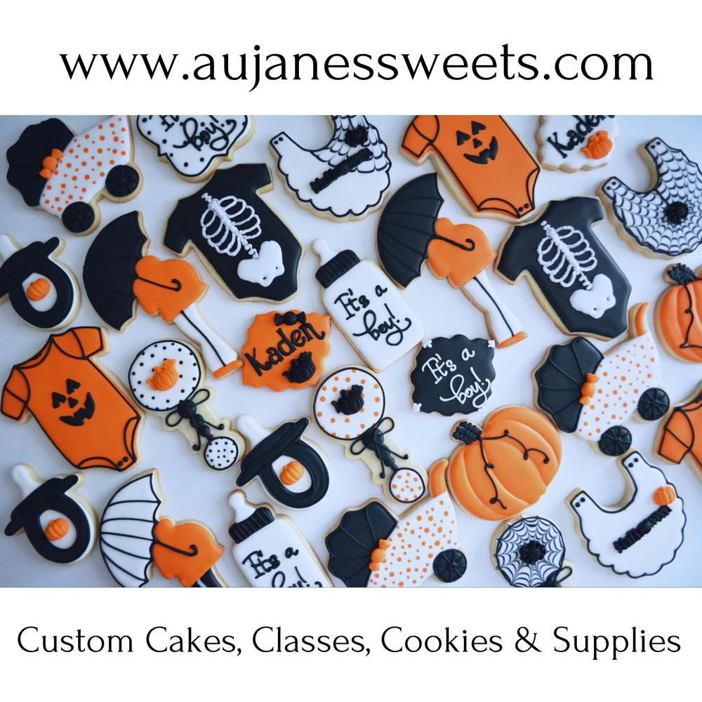 Halloween Baby Shower Cookie Connection