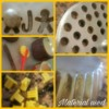 Elements used for stamping and molding