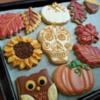 Autumn & Halloween Wedding Cookies by Sweethart Baking Experiment
