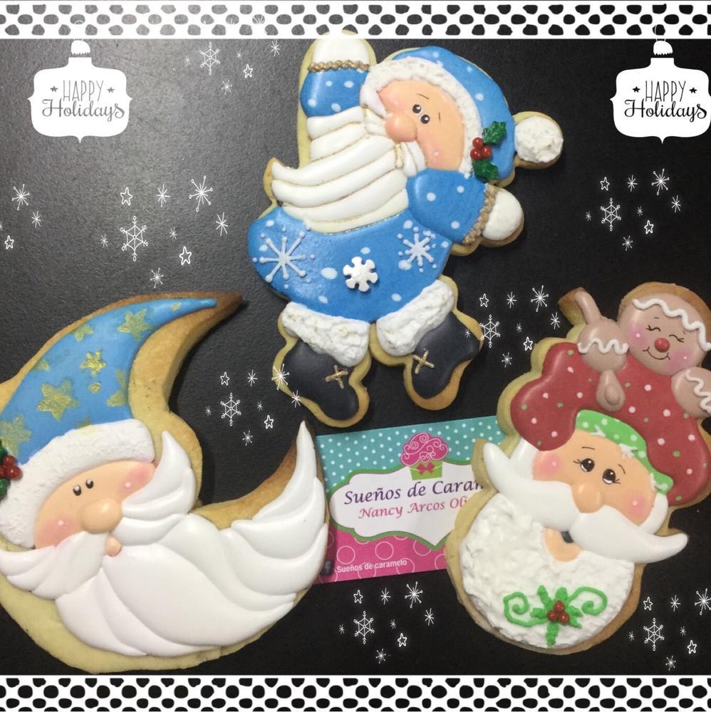 Santas claus meeting