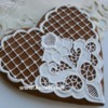 Cookie with Catwork embroidery