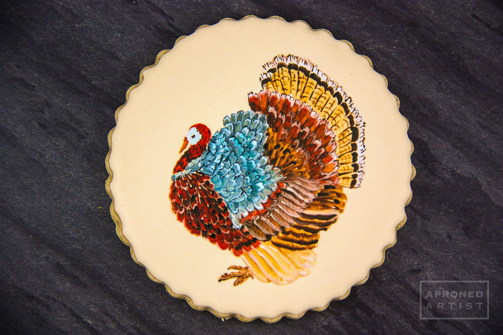 Painted turkey