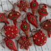 mini christmas ornaments